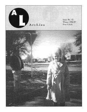 Primary view of Art Lies, Volume 13, Winter 1996-1997