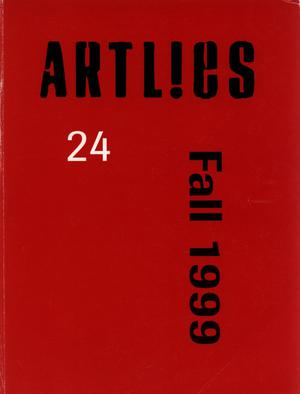 Primary view of Art Lies, Volume 24, Fall 1999