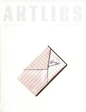 Primary view of object titled 'Art Lies, Volume 25, Winter 1999-2000'.