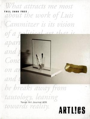 Primary view of object titled 'Art Lies, Volume 28, Fall 2000'.