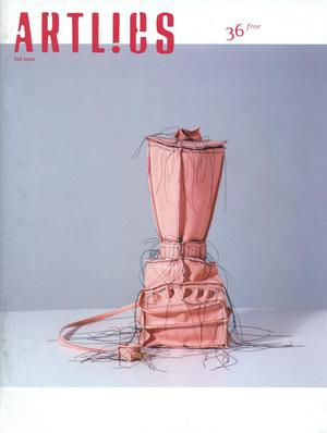 Primary view of object titled 'Art Lies, Volume 36, Fall 2002'.