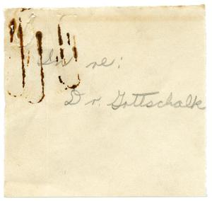 Primary view of object titled '[Letter from Meyer Bodansky to J. T. Crowe - December 1938]'.