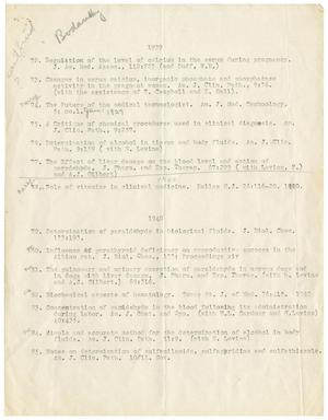 Primary view of object titled '[Letter from Meyer Bodansky to J. E. Williams - November 23, 1939]'.