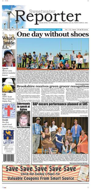 Sweetwater Reporter (Sweetwater, Tex.), Vol. 112, No. 124, Ed. 1 Friday, April 9, 2010
