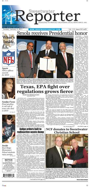 Sweetwater Reporter (Sweetwater, Tex.), Vol. 113, No. 041, Ed. 1 Sunday, January 2, 2011