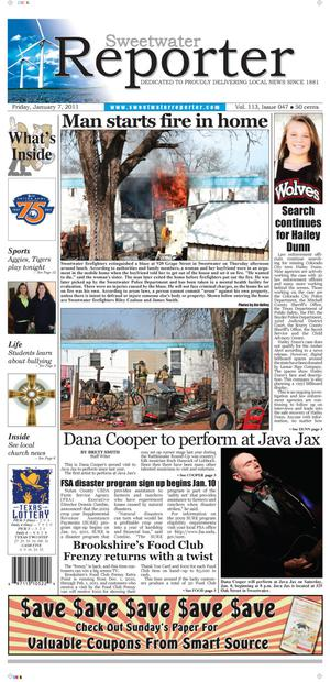 Sweetwater Reporter (Sweetwater, Tex.), Vol. 113, No. 047, Ed. 1 Friday, January 7, 2011