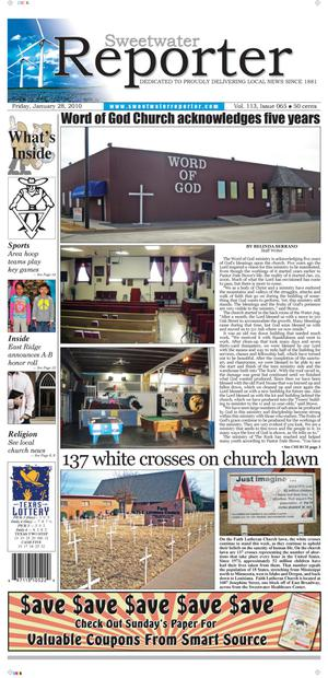 Sweetwater Reporter (Sweetwater, Tex.), Vol. 113, No. 065, Ed. 1 Friday, January 28, 2011