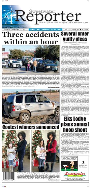 Sweetwater Reporter (Sweetwater, Tex.), Vol. 113, No. 341, Ed. 1 Thursday, December 22, 2011