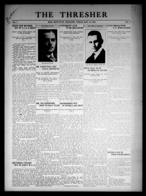 The Thresher (Houston, Tex.), Vol. 1, No. 9, Ed. 1 Friday, May 12, 1916