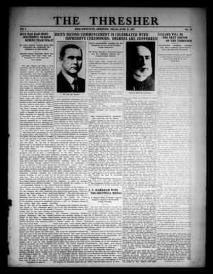The Thresher (Houston, Tex.), Vol. 2, No. 16, Ed. 1 Monday, June 11, 1917