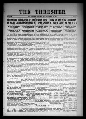 The Thresher (Houston, Tex.), Vol. 3, No. 3, Ed. 1 Saturday, October 27, 1917