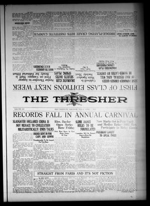 Primary view of object titled 'The Thresher (Houston, Tex.), Vol. 12, No. 23, Ed. 1 Friday, April 1, 1927'.
