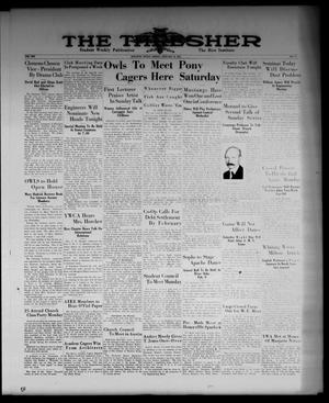 The Thresher (Houston, Tex.), Vol. 19, No. 17, Ed. 1 Friday, January 12, 1934