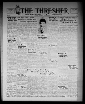 Primary view of object titled 'The Thresher (Houston, Tex.), Vol. 22, No. 16, Ed. 1 Friday, February 12, 1937'.