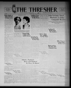 Primary view of object titled 'The Thresher (Houston, Tex.), Vol. 22, No. 19, Ed. 1 Friday, March 5, 1937'.