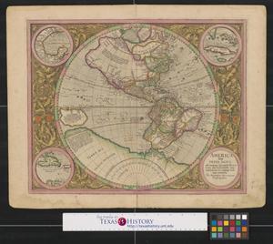 Primary view of America, siue, India Nova : ad magnae Gerardi Mercatoris aui universalis imitationem in compendium redacta.