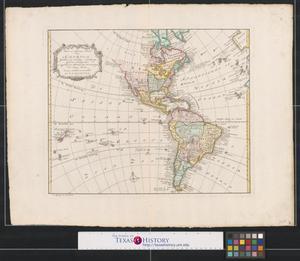 Primary view of Nieuwe en algemeene kaart van America.