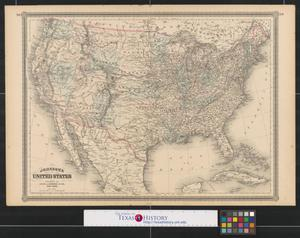 Primary view of object titled 'Johnson's United States'.