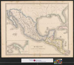 Primary view of Mexico and Central America.