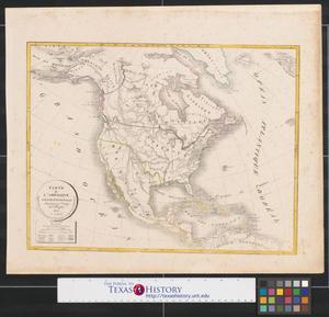 Primary view of Carte de l'amérique septentrionale : dressée pour l'usage des colléges.