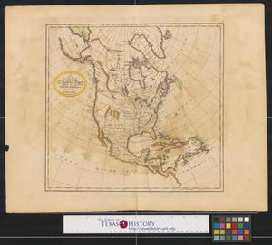 Primary view of A new and accurate map of North America from the best authorities.