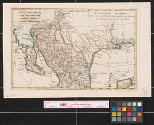 Primary view of Le nouveau Mexique : avec la partie septentrionale de l'ancien, ou, de la Nouvelle Espagne.