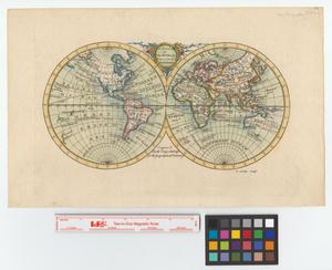 Primary view of object titled 'An accurate map of the world, drawn from the best authorities.'.