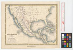 Primary view of object titled 'Central America including Mexico, Texas and California.'.