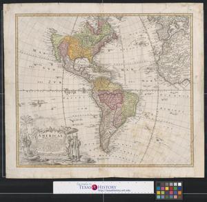 Primary view of Americae mappa generalis secundum legitimas projectionis stereographicae regulas.
