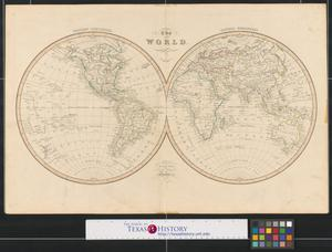 Primary view of The World: engraved for Smiths Atlas.
