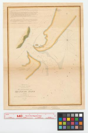 Primary view of object titled 'Reconnaissance of Aransas Pass, Texas.'.
