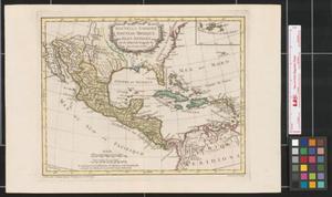 Primary view of Nouvelle Espagne, Nouveau Méxique, Isles Antilles.