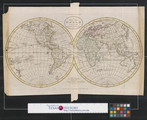 Primary view of object titled 'A map of the world from the best authorities.'.