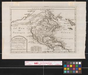 Primary view of Amerique Septentrionale: divisée en ses principales possessions et gds. peuples.