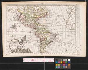 Primary view of Carte Nouvelle d'Amerique