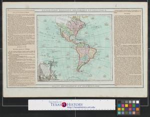 Primary view of L'Amérique : dressée pour l'étude de la géographie.