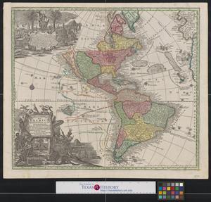 Primary view of Novus orbis sive America Meridionalis et Septentrionalis: per sua regna, provincias et insulas iuxta observationes et descriptiones recentiss.