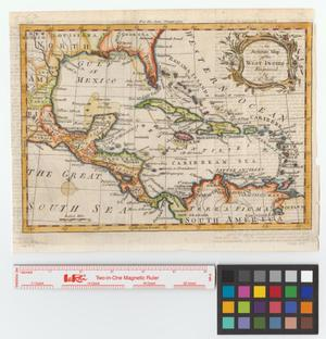 Primary view of object titled 'An accurate map of the West Indies.'.