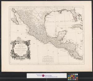 Primary view of Carte du Mexique et de la Nouvelle Espagne : contenant la partie australe de l'Amérique Septentle.