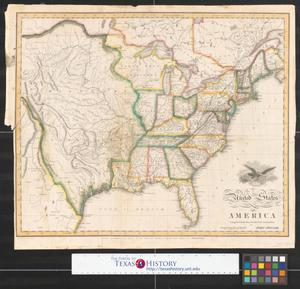 Primary view of United States of America : compiled from the latest & best authorities.