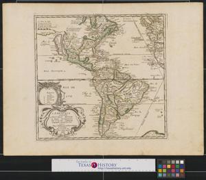 Primary view of L'Ameriqve autrement le Novveav Monde et Indes Occidentales.
