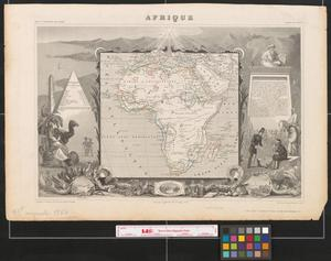 Primary view of object titled 'Afrique.'.