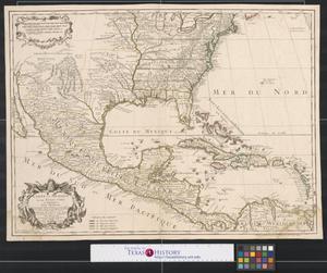 Primary view of Carte du Mexique et des Etats Unis d'Amérique : partie méridionale.