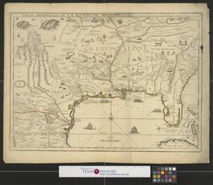 Primary view of Partie meridionale de la Riviere de Missisipi : et ses environs dans l'Amerique Septentrionale.