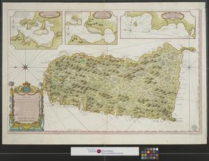 Primary view of Carte de l'isle de Sainte Lucie.