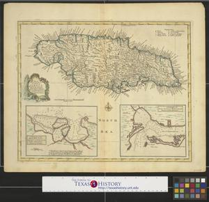 Primary view of A new & accurate map of the Island of Jamaica: divided into its principal parishes.