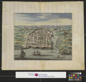 Primary view of object titled 'Urbs Domingo in Hispaniola.'.