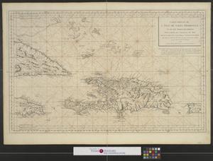 Primary view of Carte réduite de l'isle de Saint Domingue et de ses débouquements : pour servir aux vaisseaux du roy.