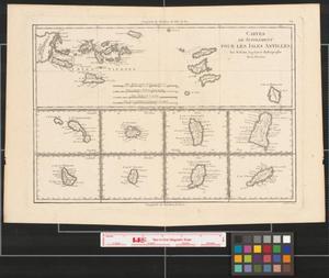 Primary view of Cartes de supplément pour les Isles Antilles.