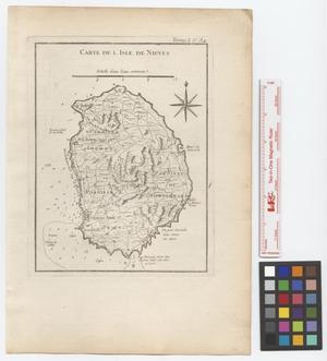 Primary view of Carte de l'Isle de Nieves.